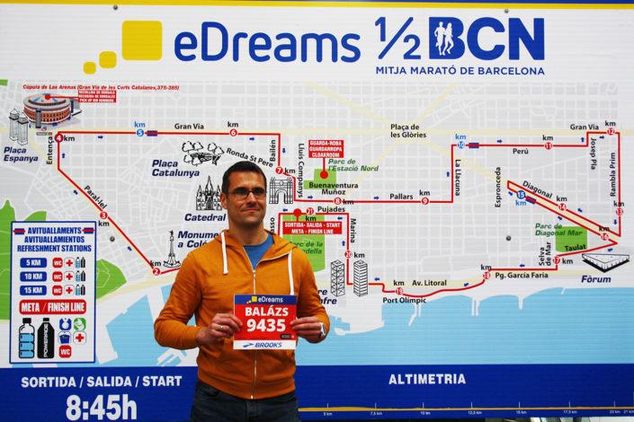 Barcelona Félmaraton 2017