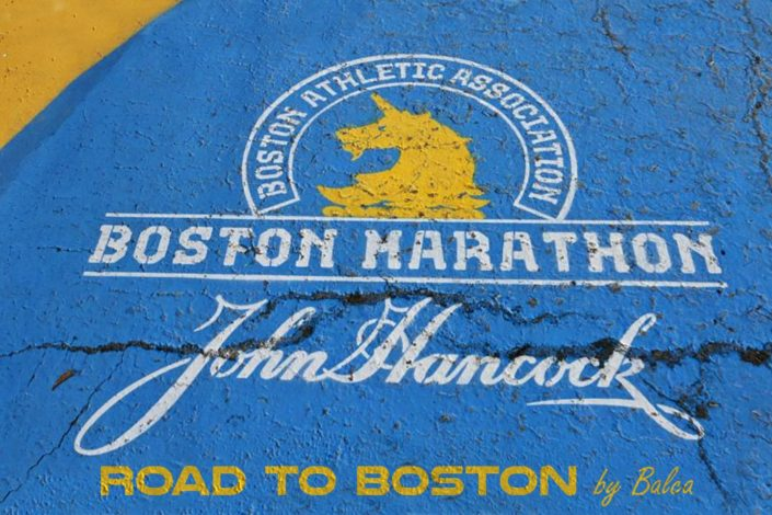 Road to Boston Marathon by Balca